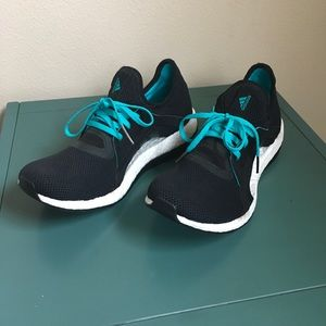 adidas pureboost X running shoes, NWOT, size 9